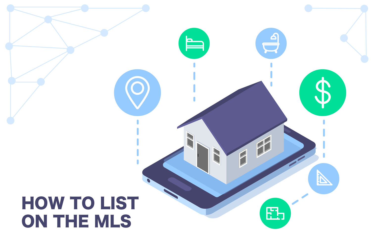 A house that appears on the MLS and internet