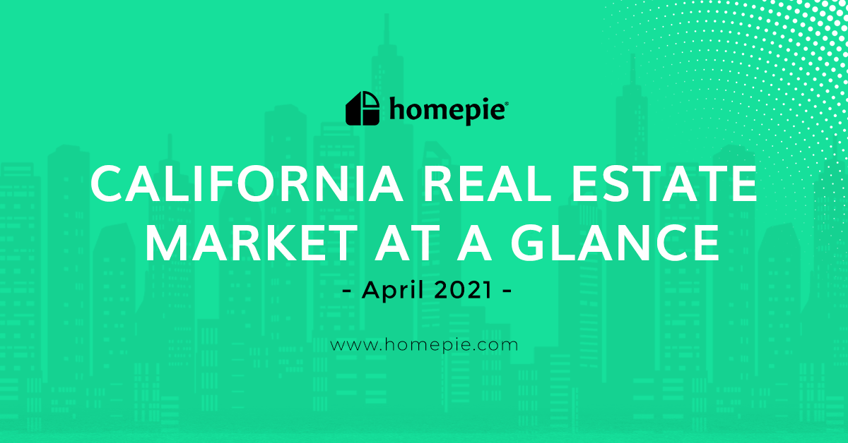 California Real Estate Market at a Glance - April 2021