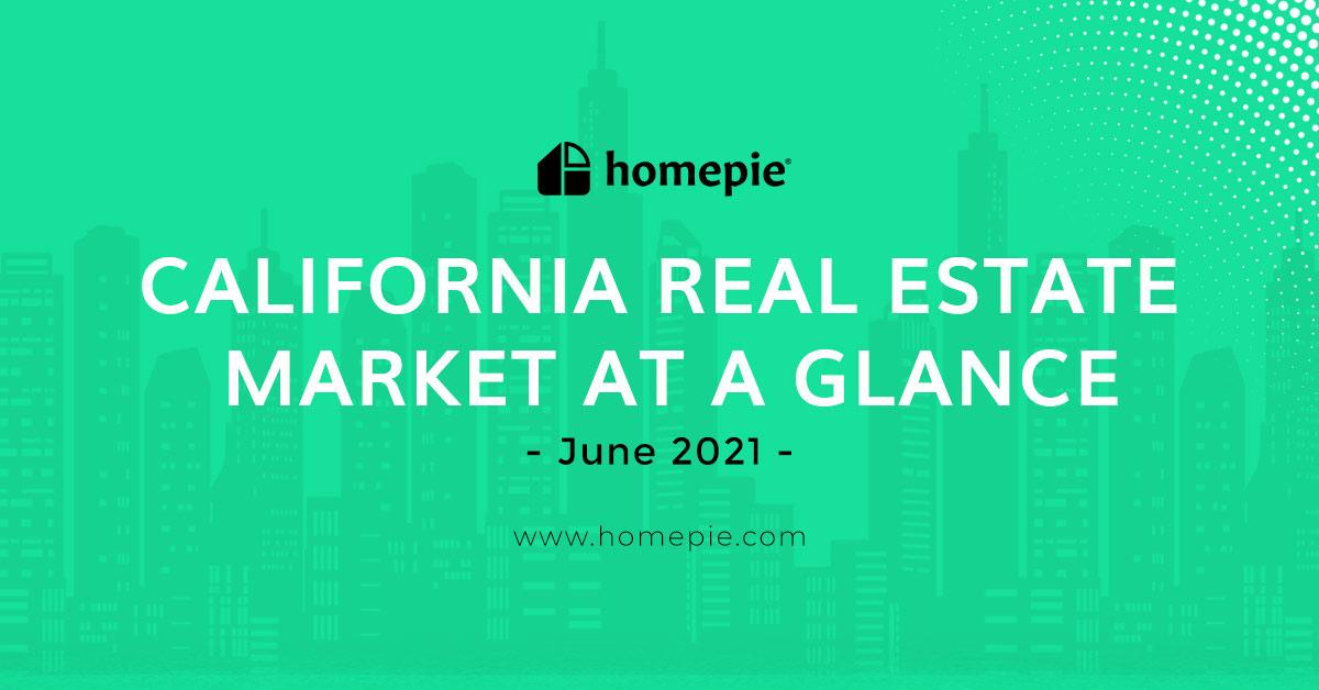 California Real Estate Market at a Glance - June 2021