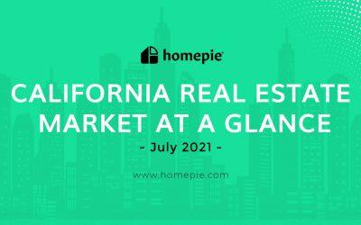 California Real Estate Market At A Glance – July 2021
