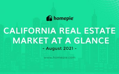 California Real Estate Market At A Glance – August 2021